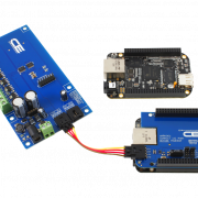 PCA9634 8-Channel 8W Open Collector 8-Bit PWM FET Driver with Cross-Platform I2C Interface