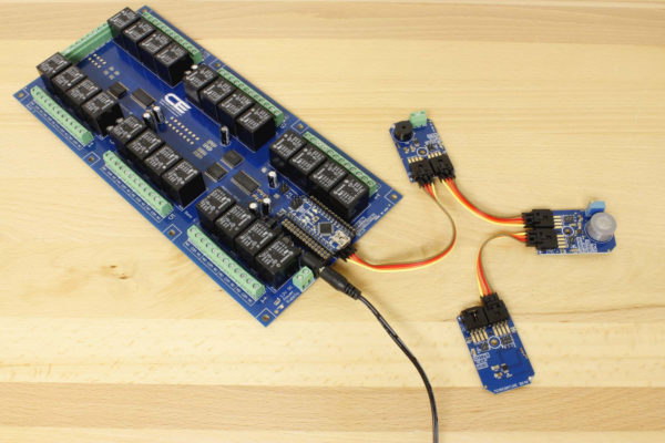 24 Channel Relay Controller With 4 GPIO and Buzzer