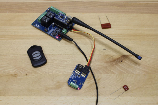 Wireless Digital IO Controller Key Fob