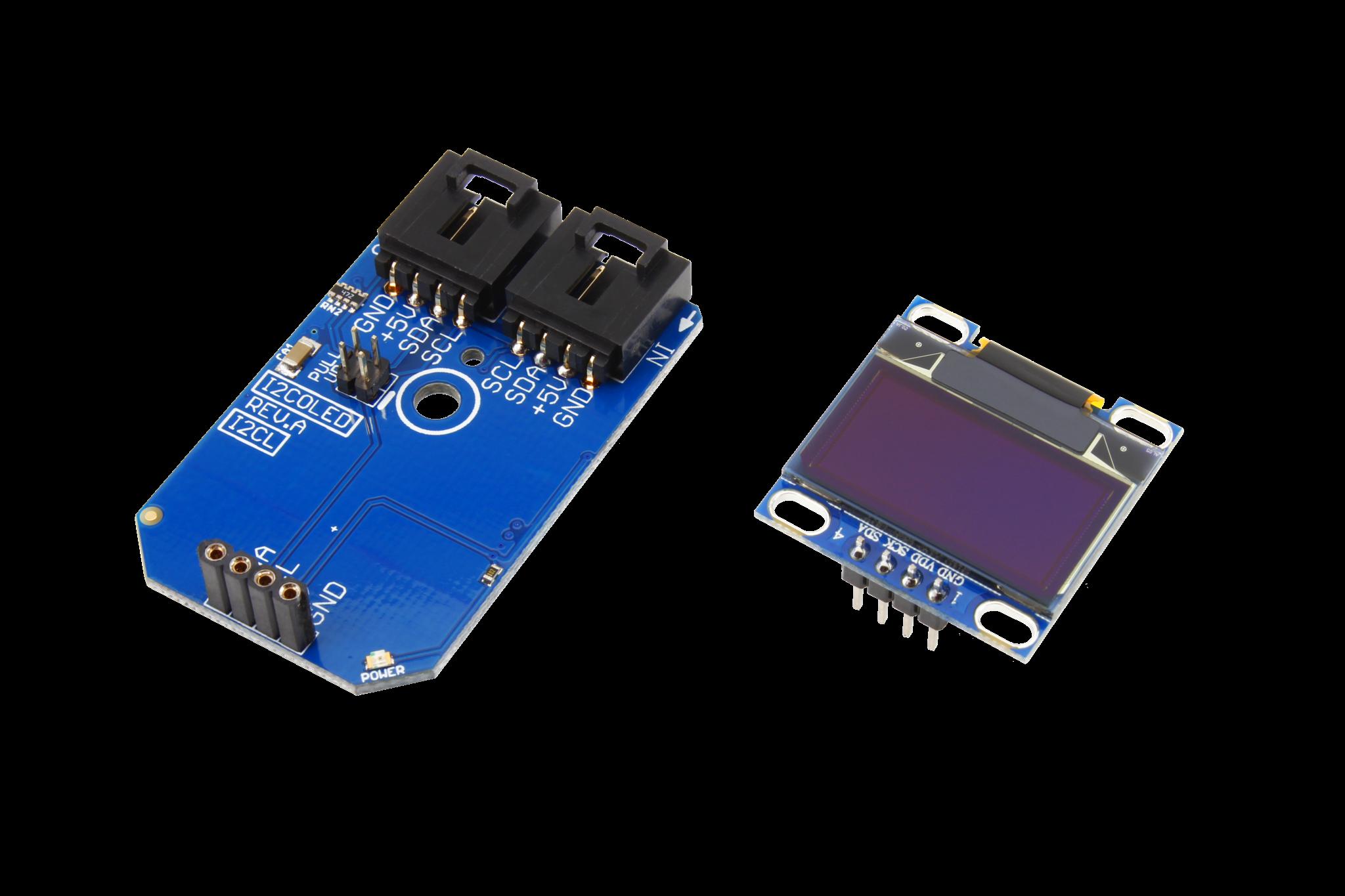 OLED 128x64 Graphic Display I2C Mini Module - store ncd io