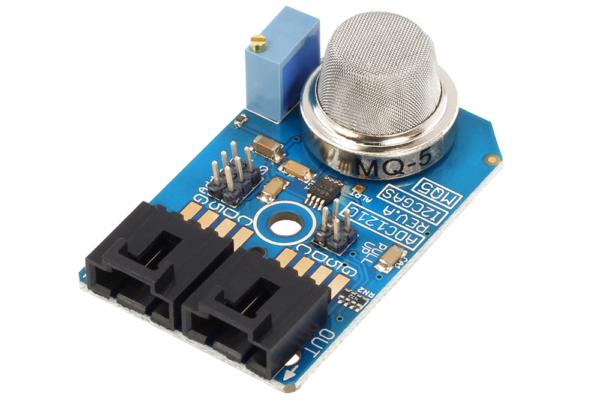 Gas Leak Detection Sensor MQ-5 Arduino