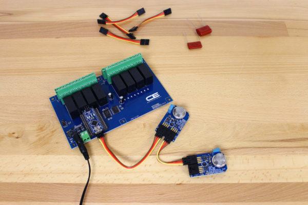 Ozone Gas Controlled Relay Board For Arduino MQ131