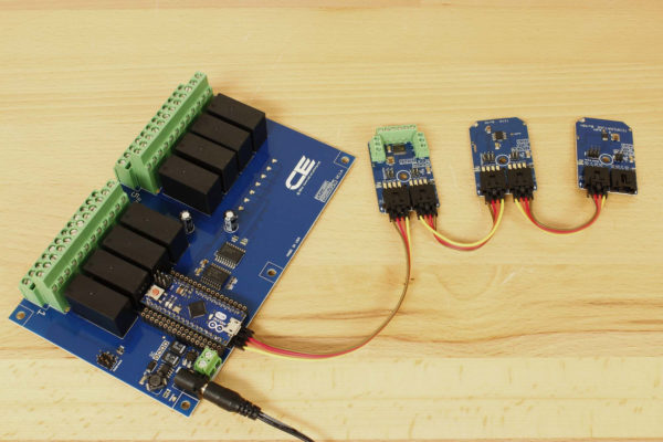 Temperature Controlled Switch MCP9808 Arduino Relay Controller