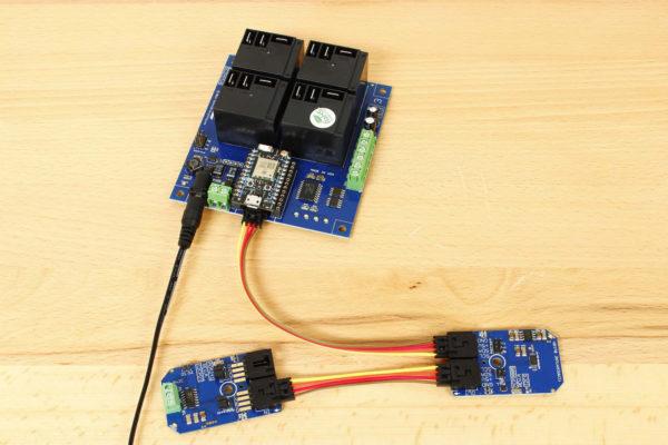 Wireless MCP9805 Temperature Memory Module Particle Photon