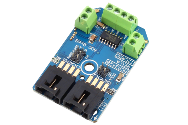 MCP3428 Raspberry Pi 4 Channel ADC