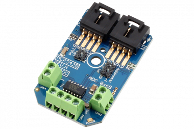 Raspberry Pi 18 Bit 4 Channel ADC MCP3426