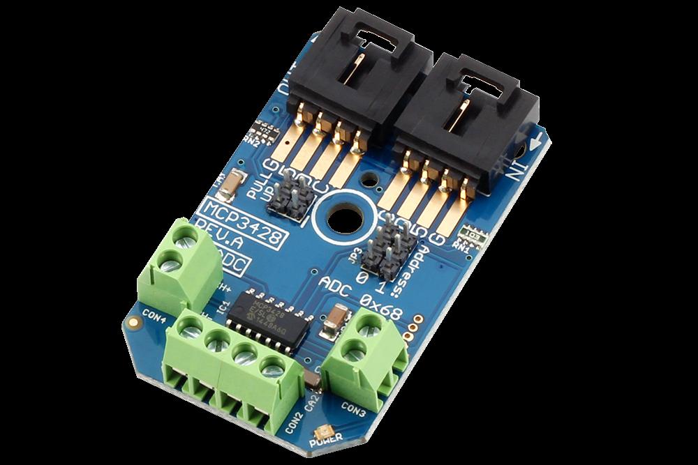 Mcp channel analog to digital converter bit i c