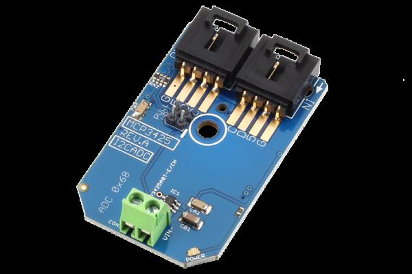 Measure Sensors at High Resolution using the MCP3425