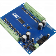 MCP23017 16-Channel 8W Open Collector FET Driver with Cross-Platform I2C Interface