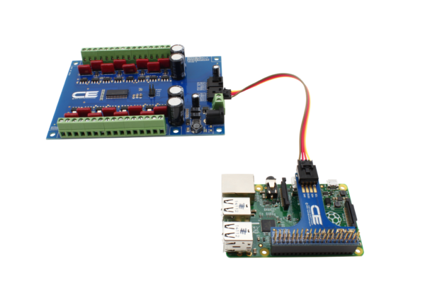 MCP23017 16-Channel 8W 12V FET Solenoid Driver Valve Controller with Cross-Platform I2C Interface