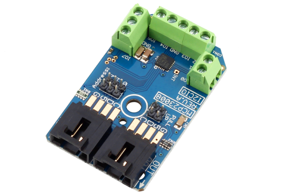 Use the MCP23008 to Read Buttons and Switches