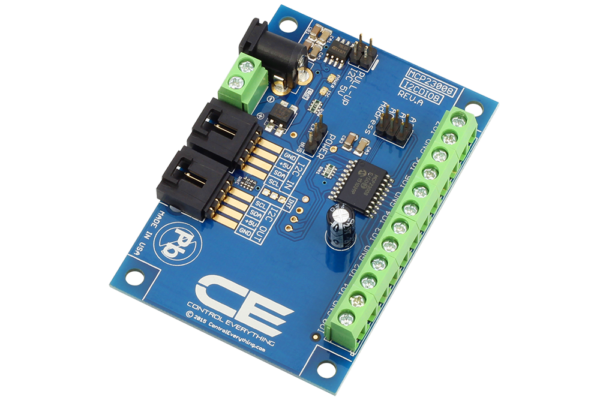 MCP23008 Programmable GPIO Digital Input/Output with I2C Interface