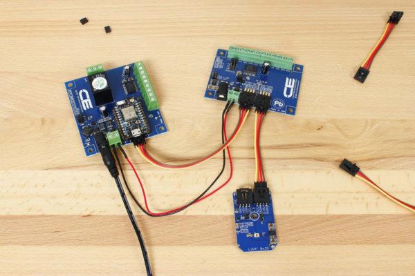 Arduino with I2C GPIO Expansion and Sensor