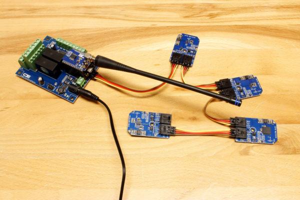 LSM9DS0 3D Accelerometer, 3D Gyroscope, 3D Magnetometer I2C Mini Module