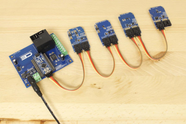 Arduino Relay Shield with Temperature Sensor and other I2C Expansions