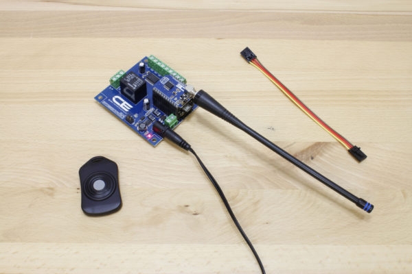 Key Fob Receiver Includes Antenna, Remotes Sold Separately
