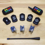 750 Foot Range Key Fob with Security Encryption, 1,2,3,4,5,8 Button Remotes