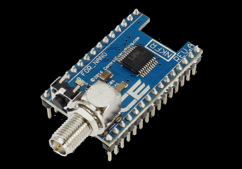 Key fob receiver overlay shield for arduino nano store