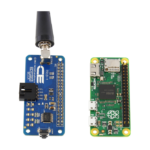 Key Fob Receiver I2C Hat for Raspberry Pi Zero is Same Size & Footprint