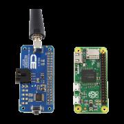 Key Fob Receiver I2C Hat for Raspberry Pi Zero is Same Size & Footprint