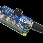 Raspberry Pi Zero Pass-Through Connector Key Fob Receiver Hat
