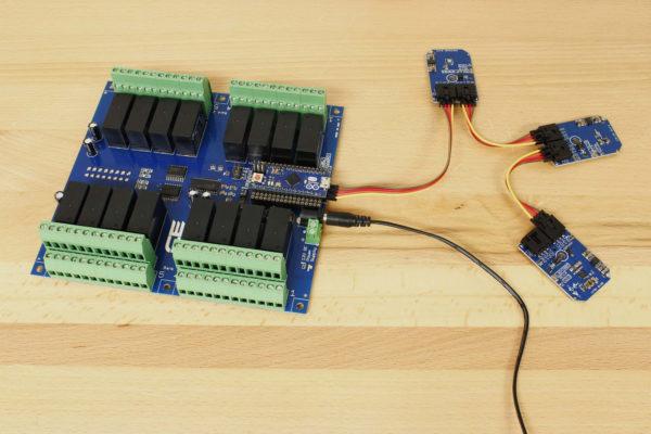 ISL29125 Digital Red Green Blue Color Light Sensor with IR Blocking Filter I2C Mini Module