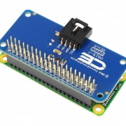 I2C Hat with Pass Through Connector for Raspberry Pi Zero
