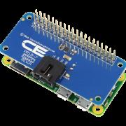 I2C Shield Stacks above Raspberry Pi Zero