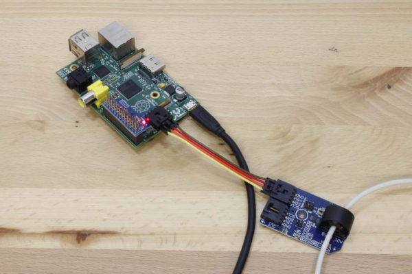 Measure Current with Raspberry Pi using I2C
