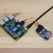 Raspberry Pi Gas Sensor using I2C Shield and Gas Sensor Mini Module