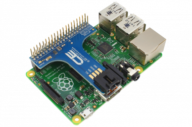 I2C Shield for Raspberry Pi 2 and Pi 3
