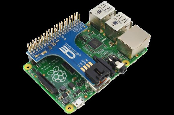 I2C Shield for Raspberry Pi 2 and Pi 3