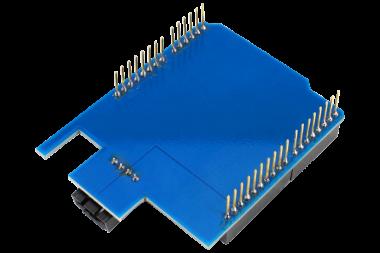 Arduino Uno I2C Shield Bottom View