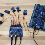 BridgeX5 Shown Controlling I2C Relay Board and various Sensors