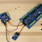 I2C Memory with Relay Shield for Arduino and I2C Relay Expansion