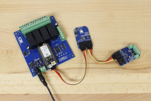 4 Channel Cellular Relay Controller With 8 Analog Input