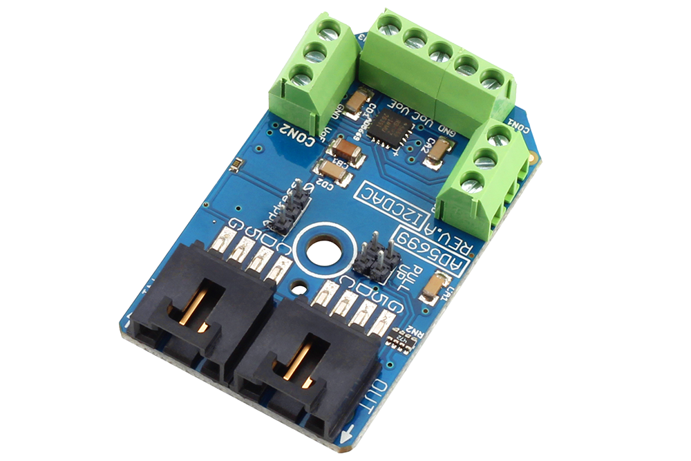 Ad bit channel digital to analog converter i c