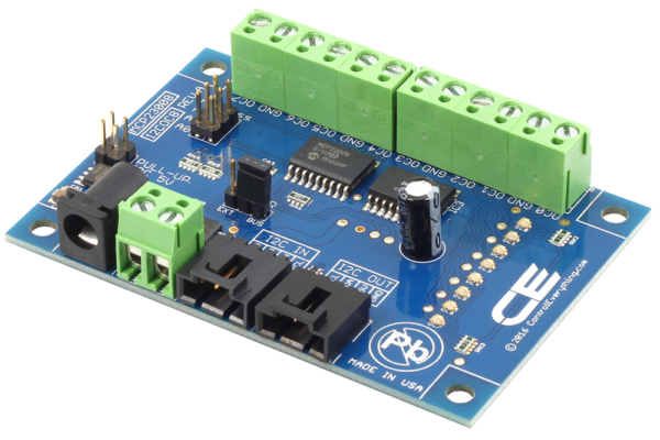 8 Channel Open Collector Controller With I2C Interface