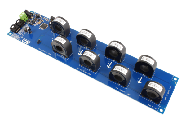 Current Monitoring Controller 8-Channel 20-Amp 97% Accuracy