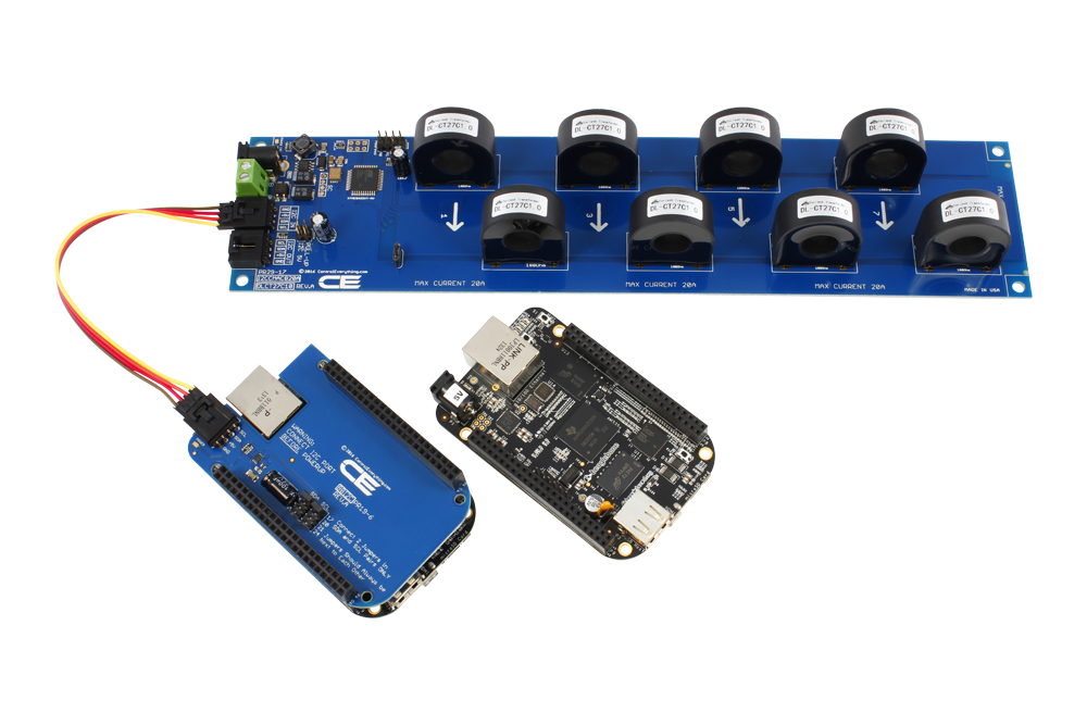 8-Channel On-Board 97% Accuracy 70-Amp AC Current Monitor with I2C  Interface - store ncd io