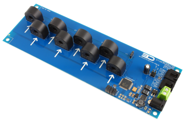 Current Monitoring 8-Channel 5-Amp 95% Accuracy with I2C Interface