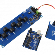 Arduino Uno Current Measurement 8-Channel 20-Amp I2C