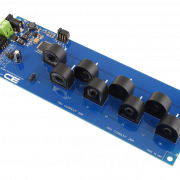 Current Monitoring 8-Channel 20-Amp 95% Accuracy with I2C Interface