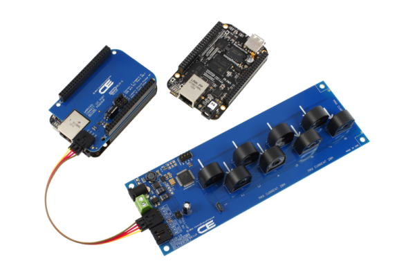 BeagleBone Black Current Measurement 8-Channel 10-Amp I2C
