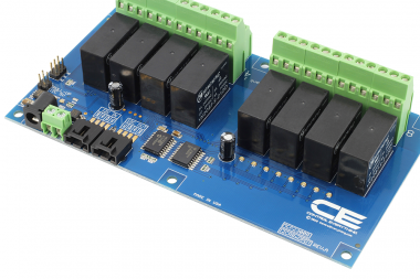 Raspberry Pi Ethernet Relay Controller