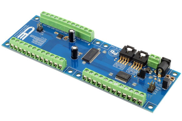 Open Collector GPIO 12-Bit Analog to Digital I2C Interface 8-Channel