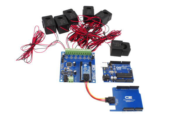 6-Channel Energy Monitoring for Uno