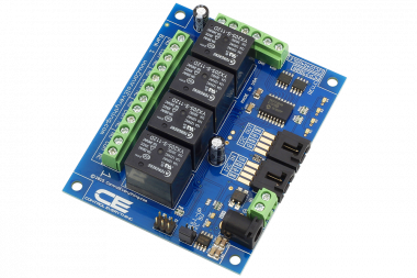 Low-Cost Switch Bank Makes Automation Easy using I2C