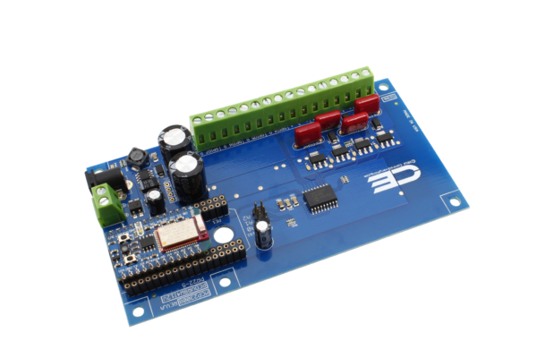 4-Channel Solenoid Driver Valve Controller 8W 12V FET 4-Channel GPIO I2C Shield for Particle Electron Cellular and USB
