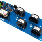 I2C AC Current Monitoring Controller 4-Channel 50-Amp